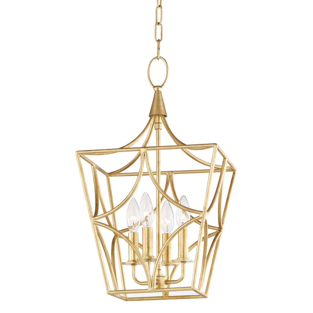 Green Point 4 Light Small Pendant by Hudson Valley Lighting