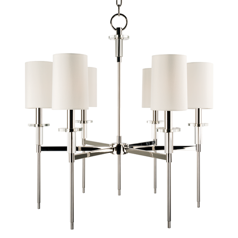Amherst 6 Light Chandelier by Hudson Valley Lighting