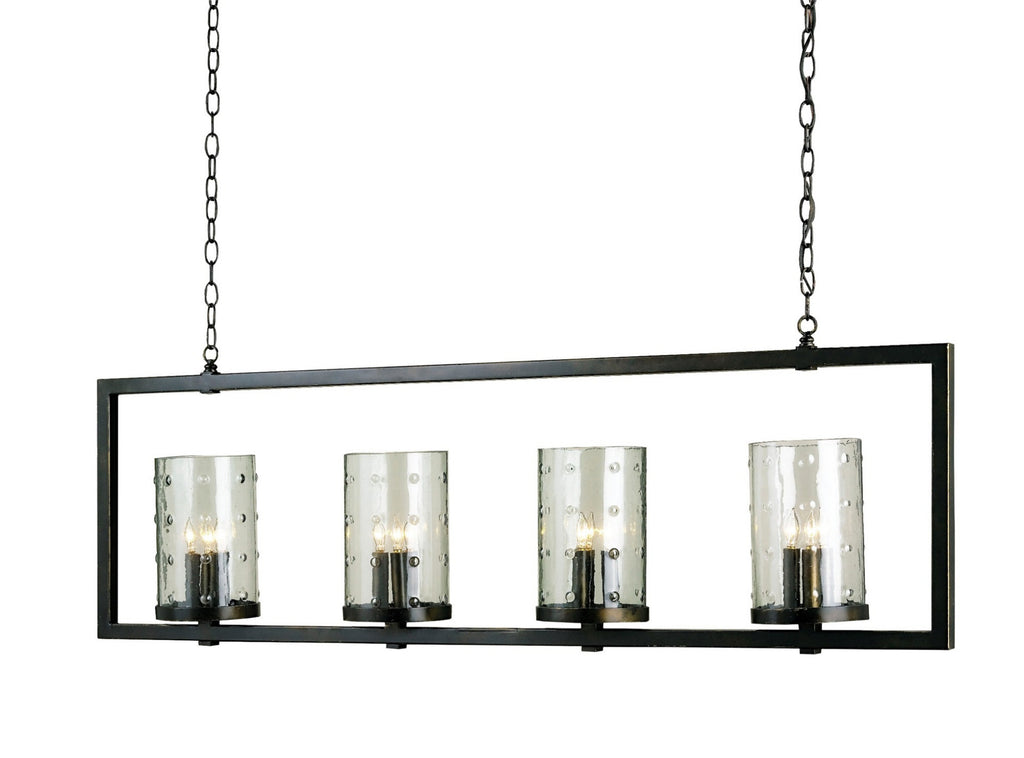 Longhope Rectangular Chandelier design by Currey & Company