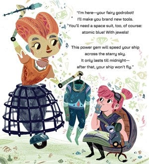 Interstellar Cinderella By Deborah Underwood & Meg Hunt