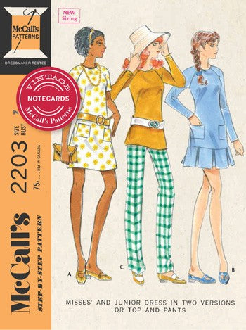Vintage McCall's Patterns Notecards by Chronicle Books
