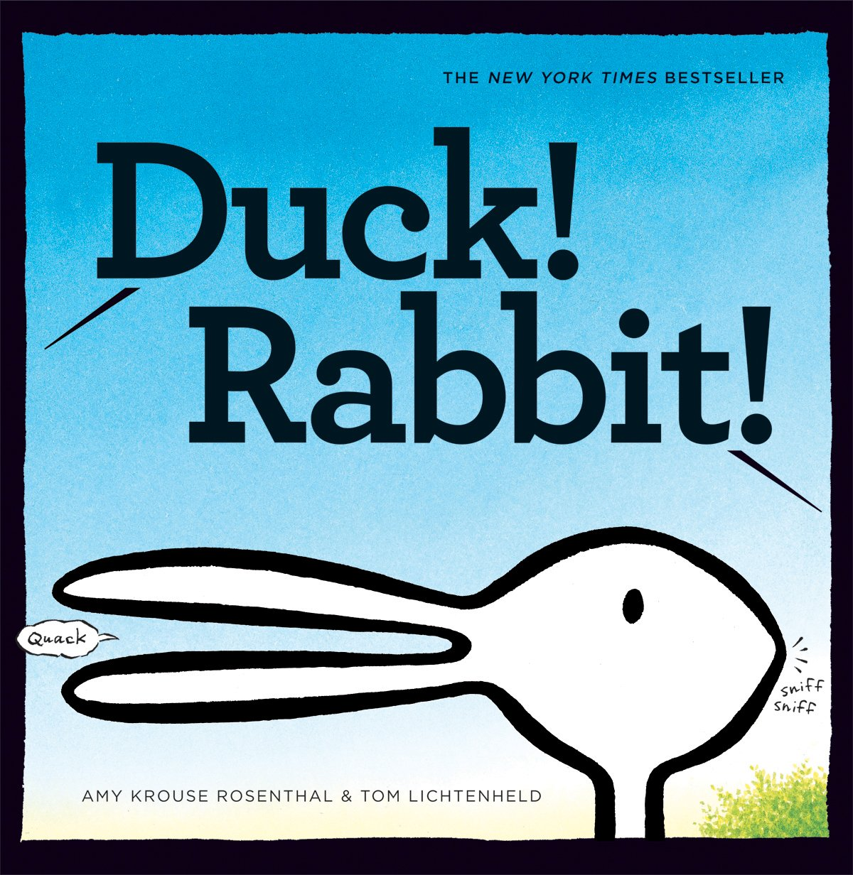 Duck! Rabbit! – Board book By Amy Krouse Rosenthal and Tom Lichtenheld