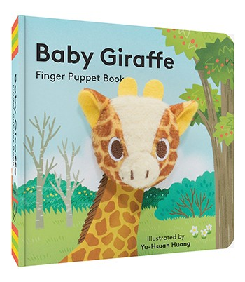 Baby Giraffe: Finger Puppet Book Illustrated by Yu-Hsuan Huang