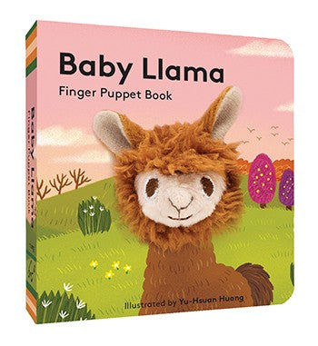 Baby Llama: Finger Puppet Book  By Chronicle Books, Illustrations by Yu-Hsuan Huang