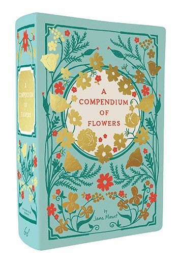 Bibliophile Vase: A Compendium of Flowers Illustrated by Jane Mount
