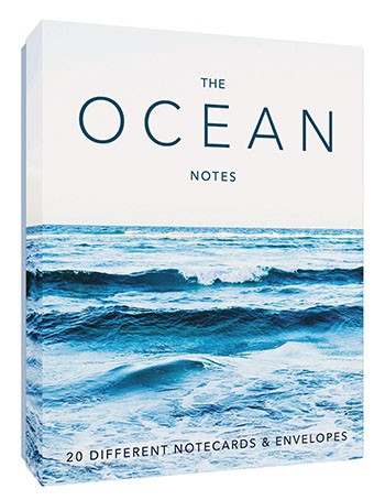 The Ocean Notes By Chronicle Books