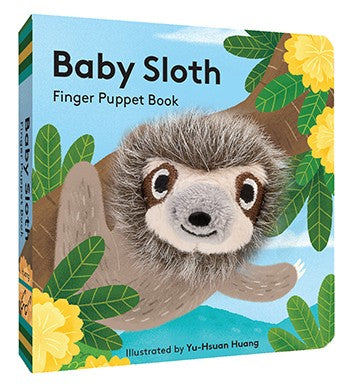 Baby Sloth: Finger Puppet Book  By Chronicle Books, Illustrations by Yu-Hsuan Huang