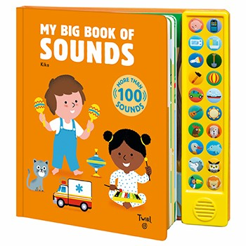 My Big Book of Sounds Twirl   Created by Kiko