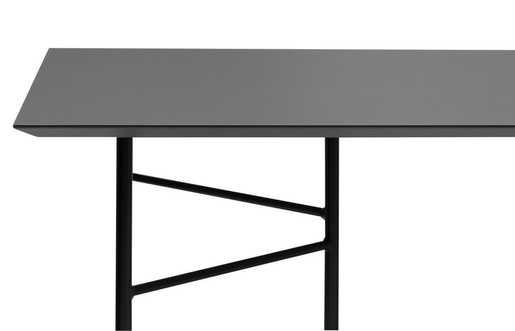 Mingle Table Top in Linoleum Charcoal by Ferm Living