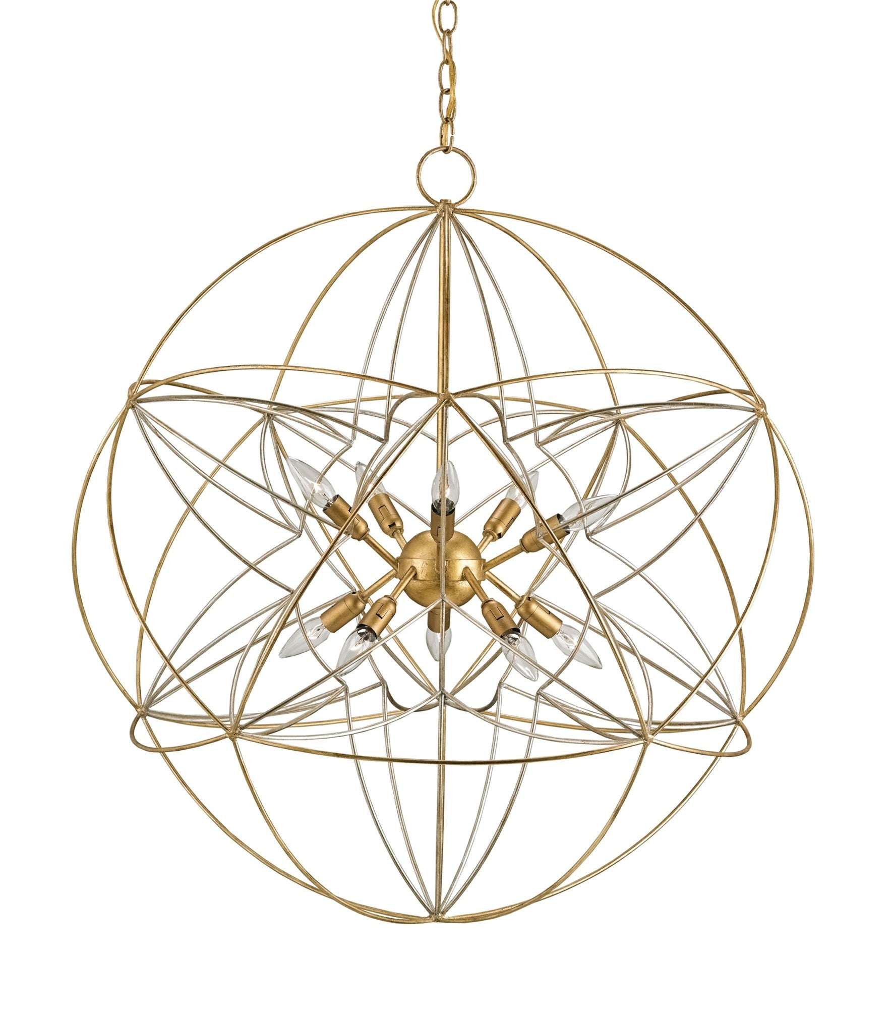 Currey And Company Orb Chandelier: Zenda Orb Chandelier Design By Currey & Company