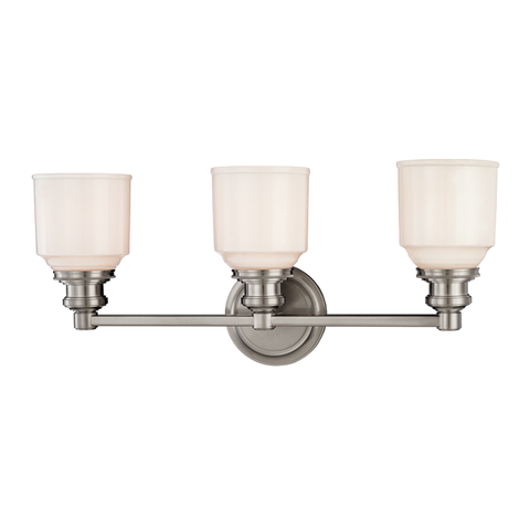 Windham 3 Light Bath Bracket by Hudson Valley Lighting