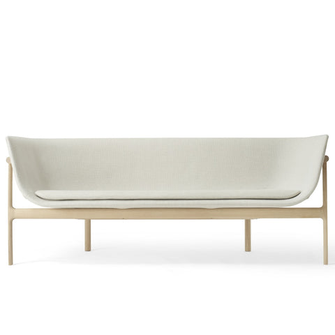 Tailor Lounge Sofa in Natural Oak & Light Grey Melange design by Menu