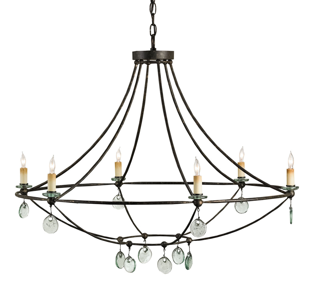 Novella Chandelier design by Currey & Company