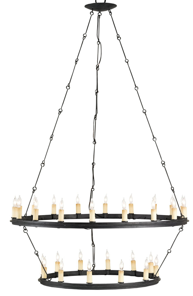 Toulouse Chandelier design by Currey & Company