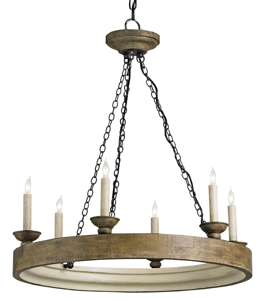 Beachhouse Chandelier design by Currey & Company