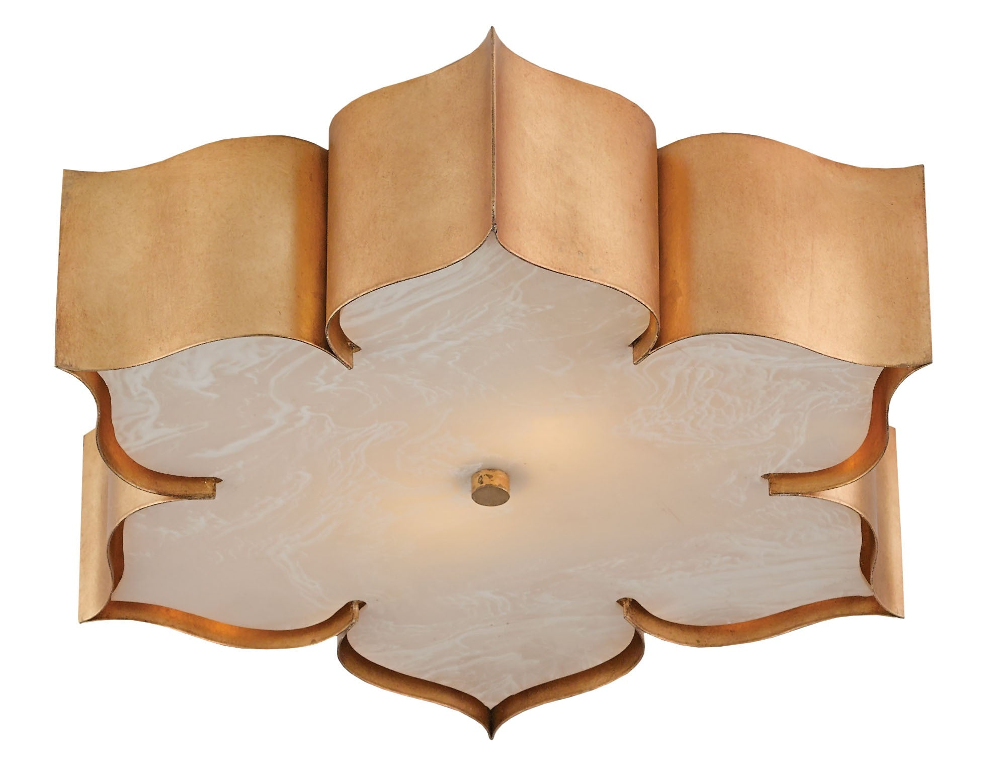 Grand Lotus Flush Mount Design By Currey Amp Company Burke