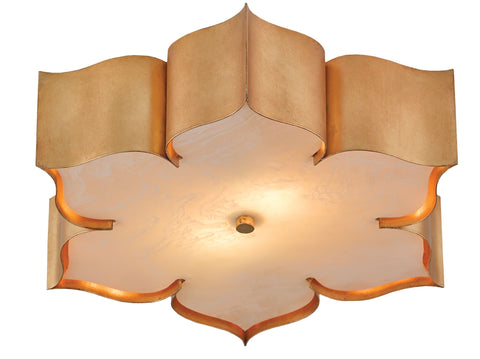 Grand Lotus Flush Mount design by Currey & Company