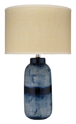 Large Batik Table Lamp design by Jamie Young