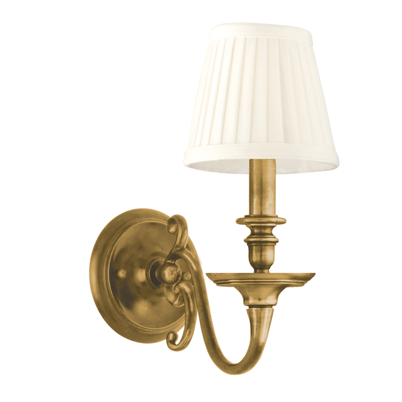 Charleston 1 Light Wall Sconce by Hudson Valley Lighting