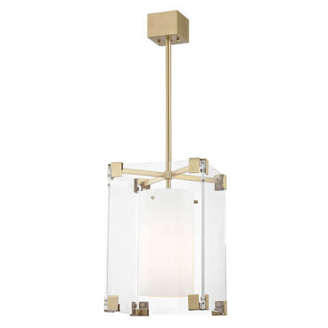 Achilles 1 Light Small Pendant by Hudson Valley Lighting