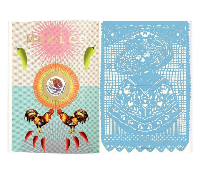 Mexico City Notebook design by Christian Lacroix