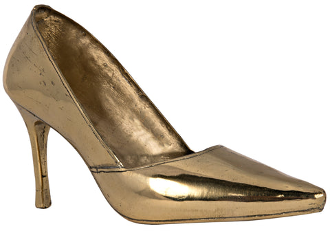 Heel Sculpture in Brass by Noir