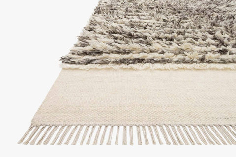 Abbot Rug in Natural & Ash design by Ellen DeGeneres for Loloi