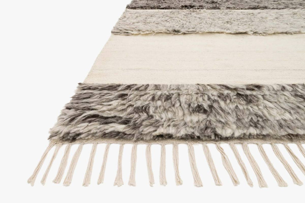 Abbot Rug in Natural & Stone by ED Ellen DeGeneres Crafted by Loloi