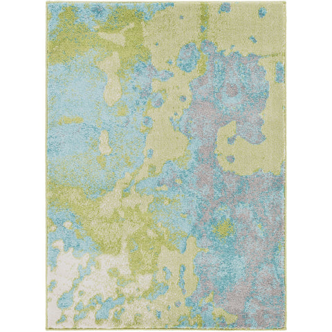 Aberdine ABE-8015 Rug in Aqua & Teal by Surya
