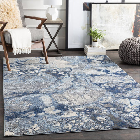 Aberdine ABE-8029 Rug in Blue & Gray by Surya