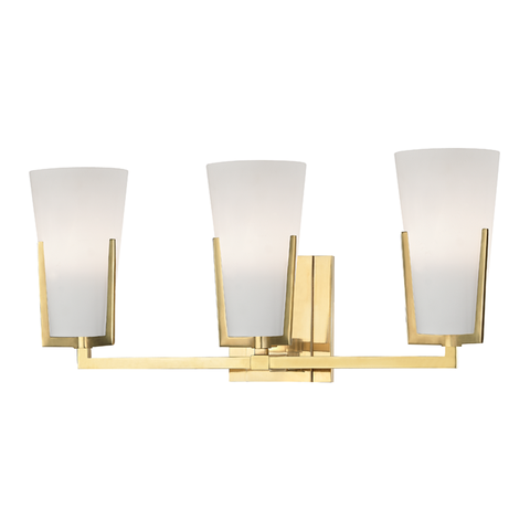Upton 3 Light Bath Bracket by Hudson Valley Lighting