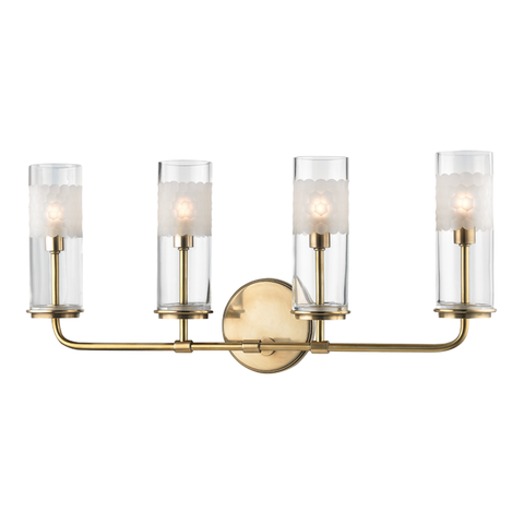 Wentworth 4 Light Wall Sconce by Hudson Valley Lighting