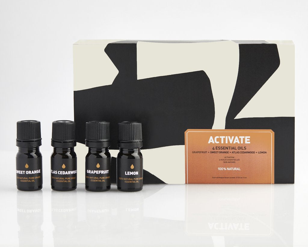 Activate Essential Oil Gift Set design by Way of Will