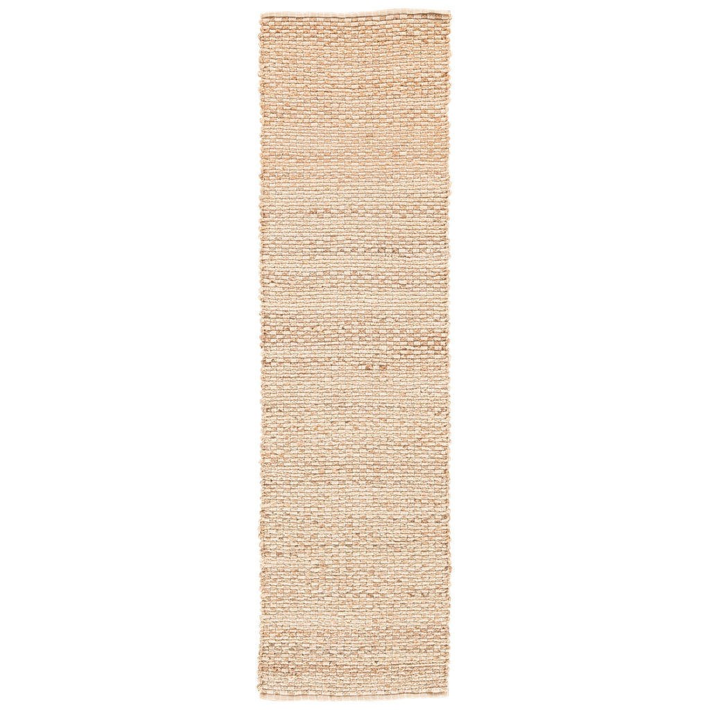 Braidley Natural Solid Beige Area Rug