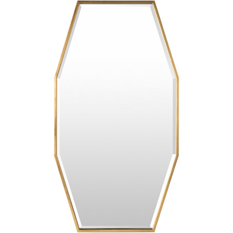 Adams ADA-3001 Mirror in Gold by Surya