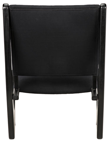 Bumerang Chair in Charcoal Black by Noir
