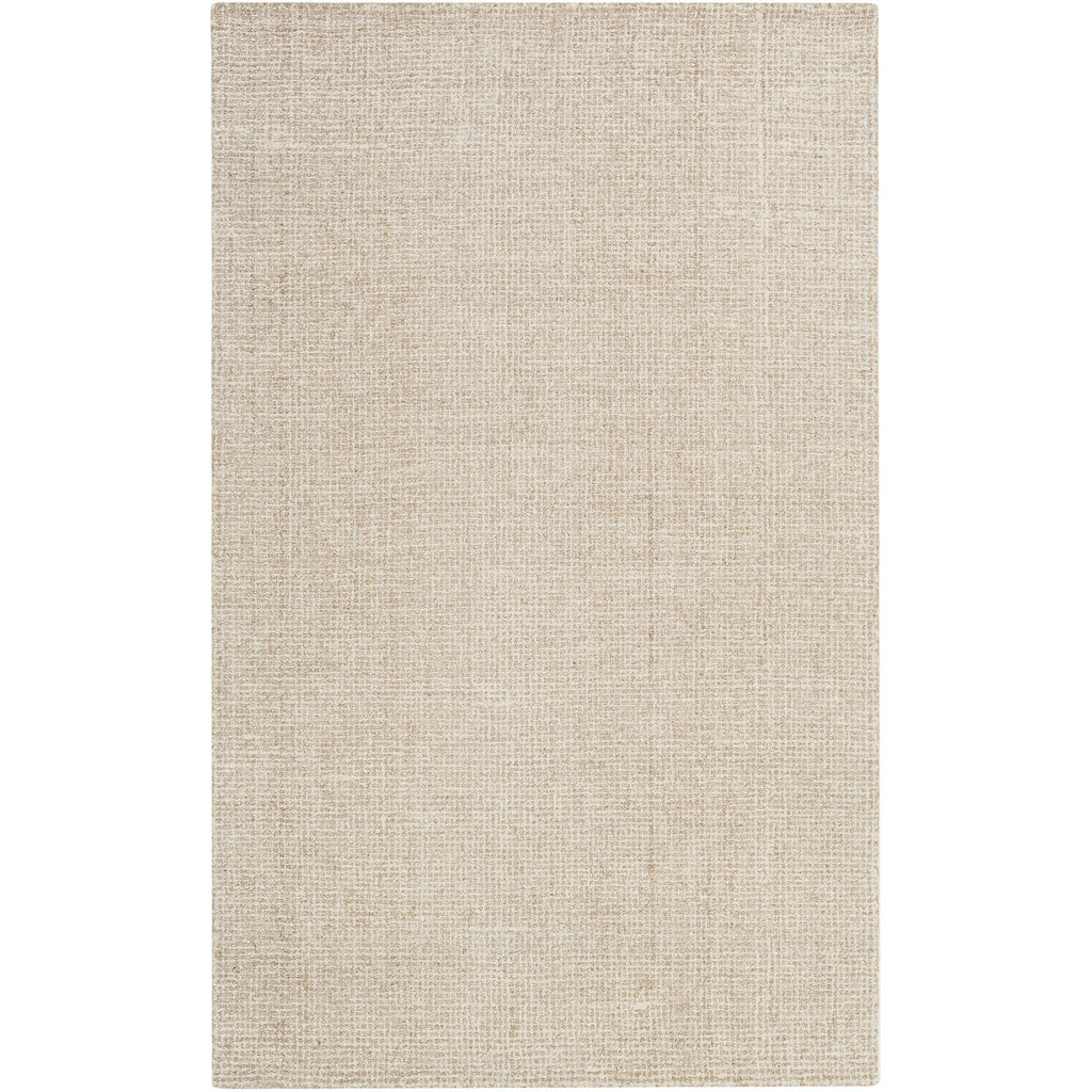 Aiden AEN-1000 Hand Tufted Rug in Khaki & Cream by Surya