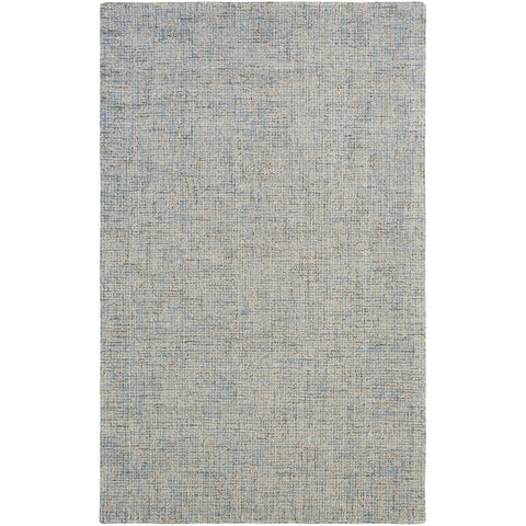 Aiden AEN-1001 Hand Tufted Rug in Denim & Cream by Surya