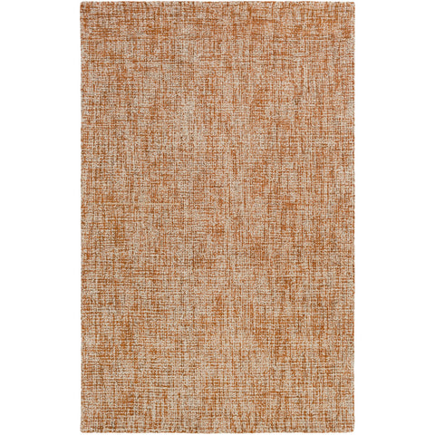 Aiden AEN-1003 Hand Tufted Rug in Burnt Orange & Khaki by Surya
