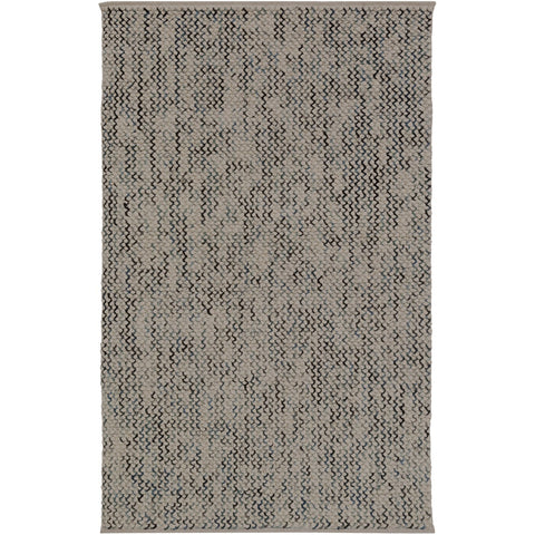 Avera AER-1003 Hand Woven Rug in Camel & Pale Blue by Surya