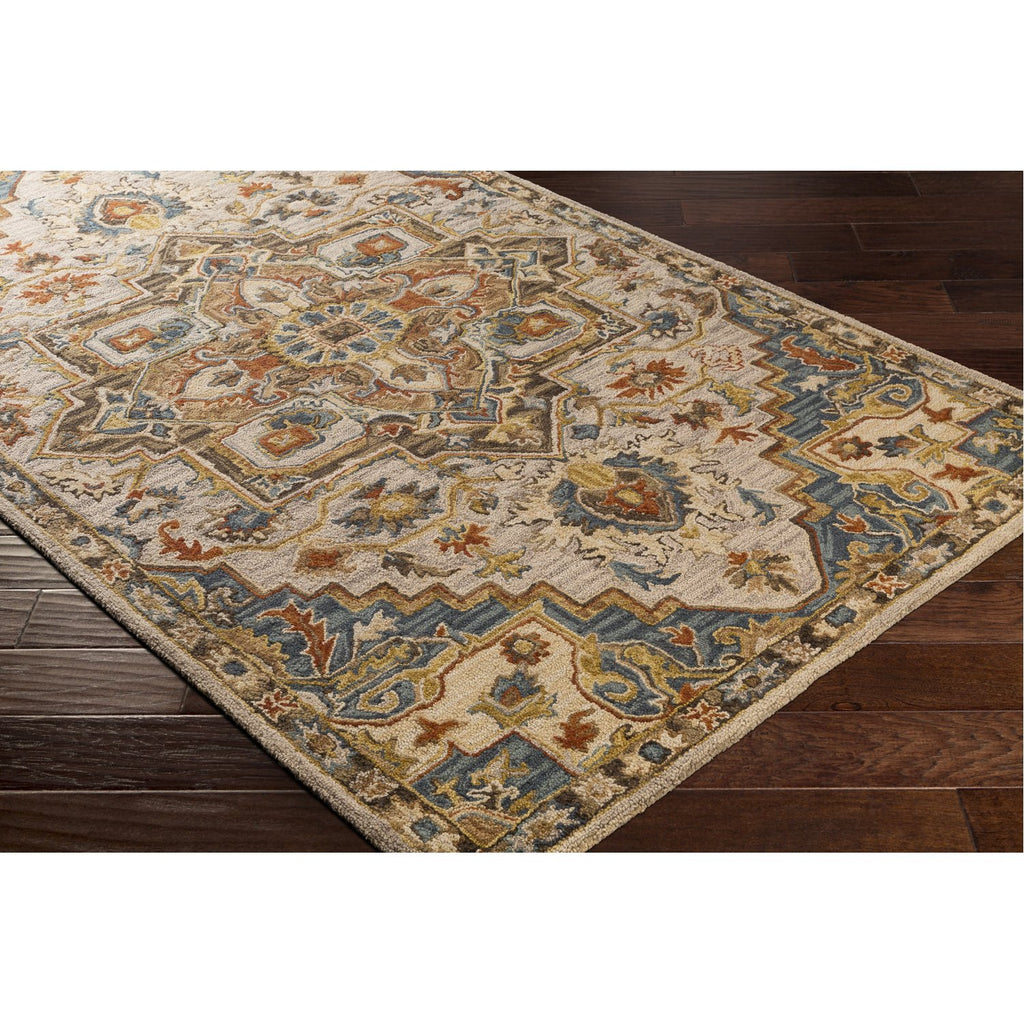 Artemis AES-2311 Hand Tufted Rug in Camel & Khaki by Surya