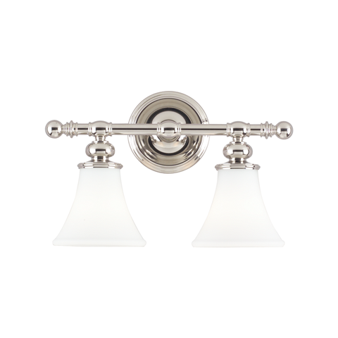 Weston 2 Light Bath Bracket by Hudson Valley Lighting