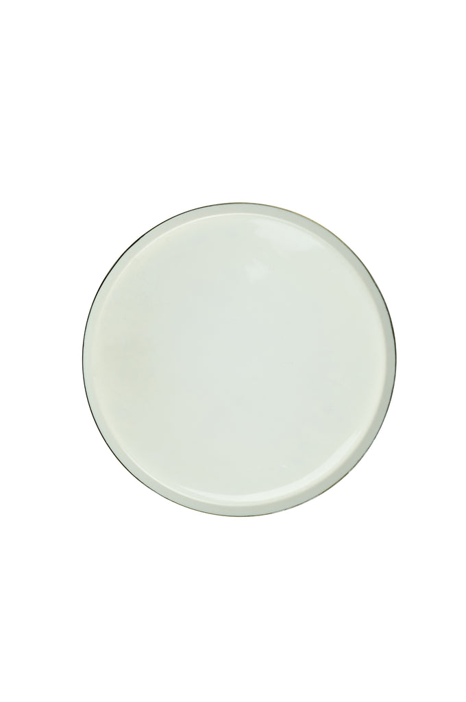 Aged Brass Dinner Plate by BD Edition I