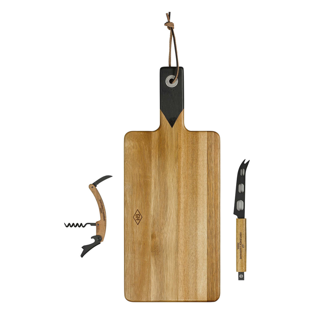Cheese & Wine Serving Set with Knife