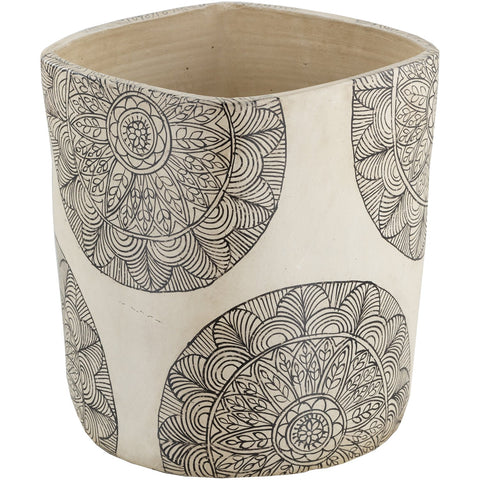 Argil AGI-002 Tall Planter in Ivory by Surya