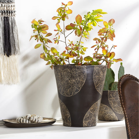 Argil AGI-004 Tall Planter in Grey by Surya