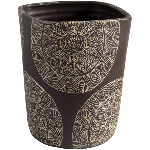 Argil AGI-005 Tall Planter in Brown by Surya