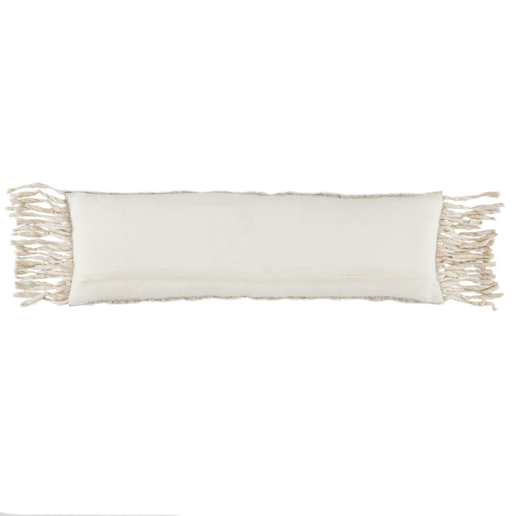 Artos Textured Pillow in Gray by Jaipur Living
