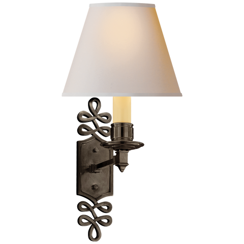 Ginger Single Arm Sconce by Alexa Hampton