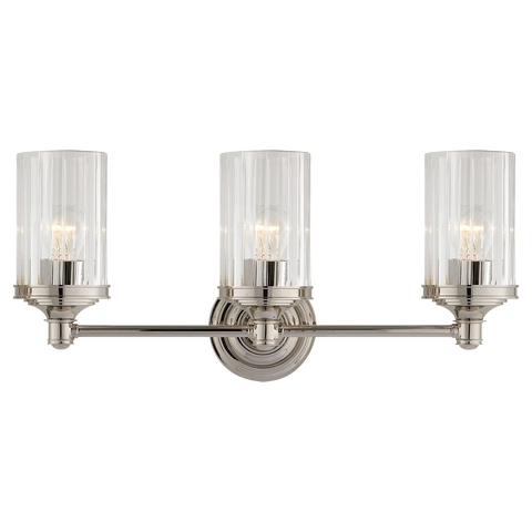 Ava Triple Sconce by Alexa Hampton